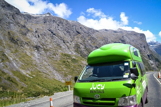 Jucy Lucy! Touring New Zealand in a Camper Van