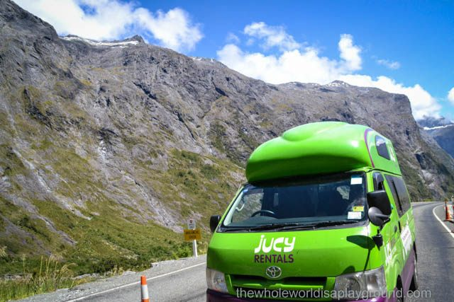 New Zealand in a Campervan: The Route