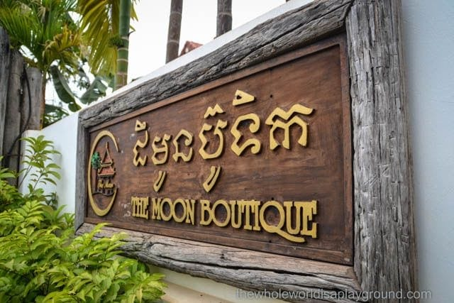 Hotel Review: Moon Boutique Hotel, Siem Reap, Cambodia