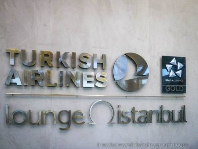 Turkish Airlines Business Class Lounge, Istanbul Ataturk Airport