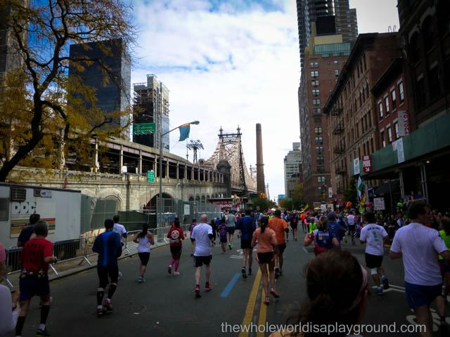 2013 New York marathon race report