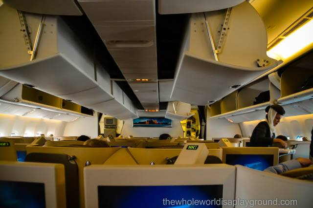 Etihad Business Class Review