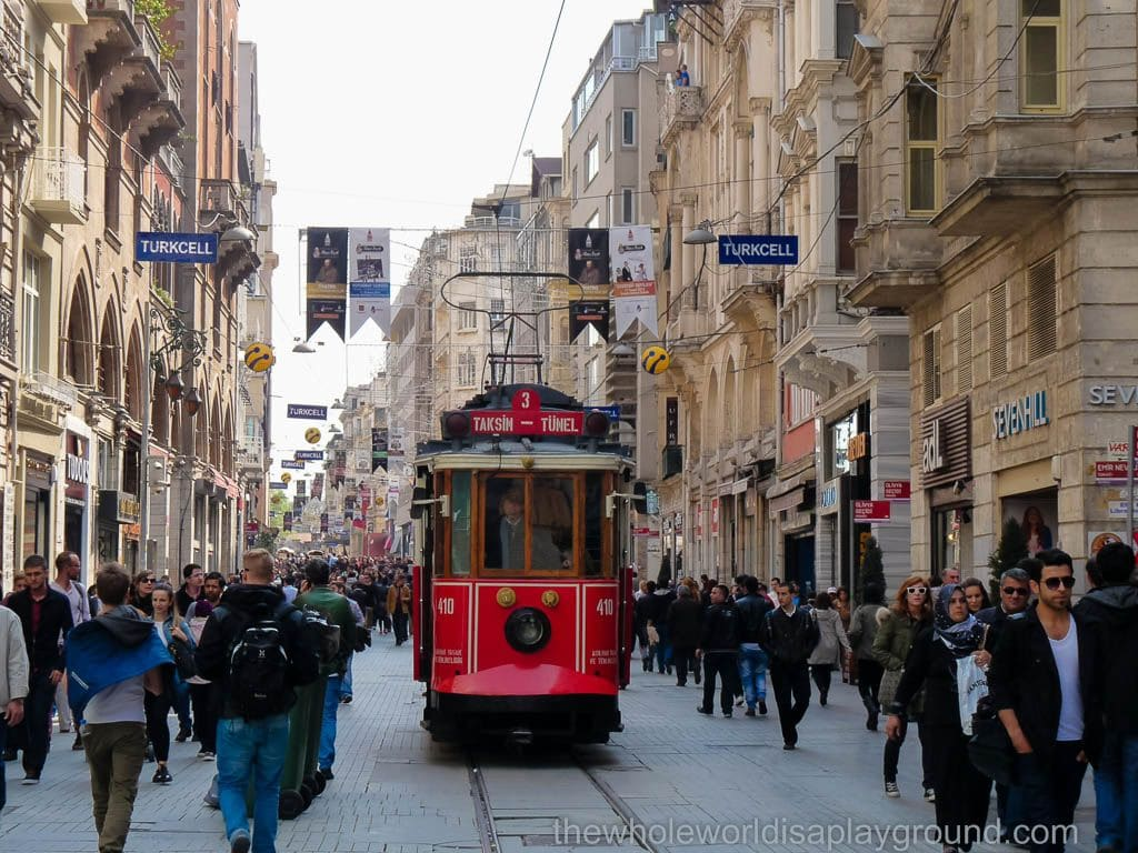 Top sights Istanbul