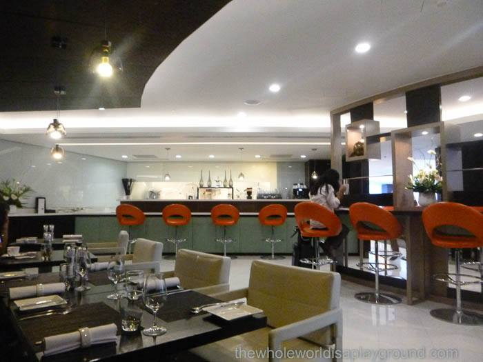Etihad First and Business Class Lounge: London Heathrow Terminal 4