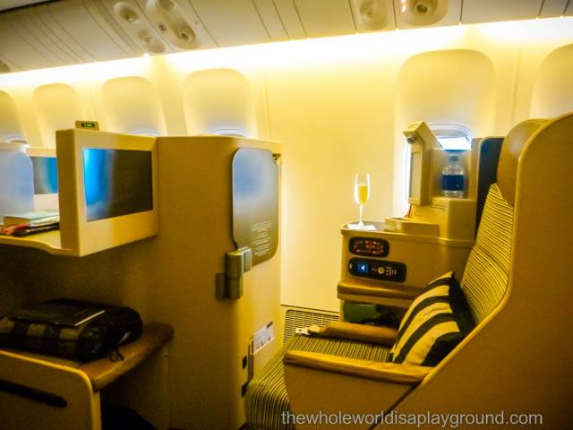 Etihad Pearl Business Class Review
