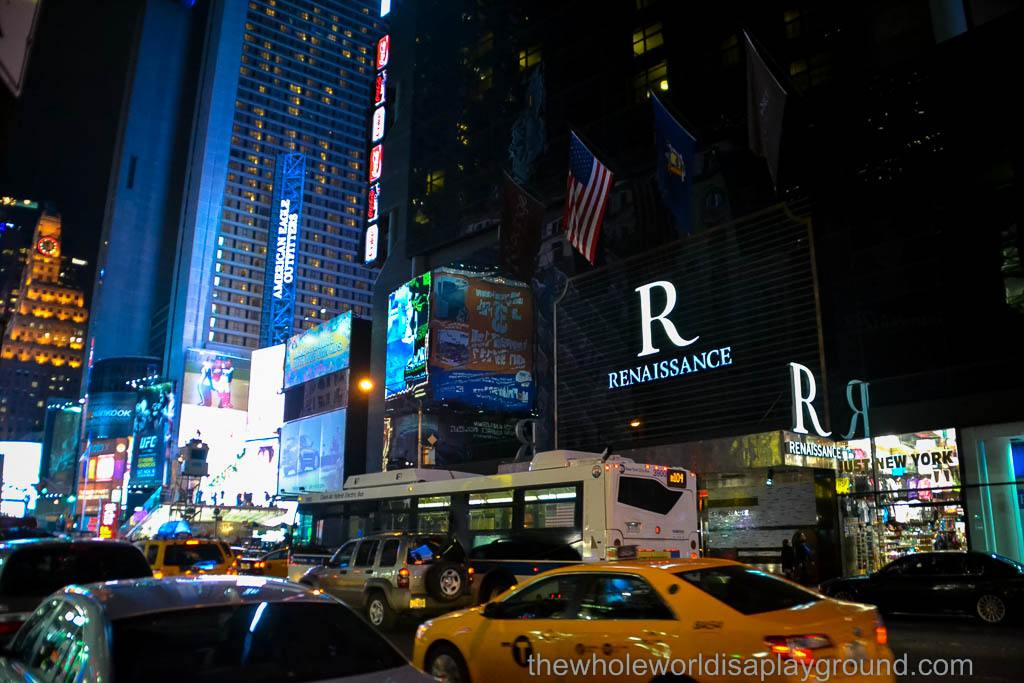 Hotel Review Renaissance Hotel Times Square New York