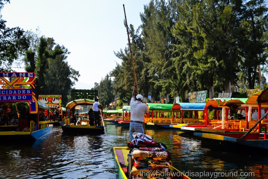Xochimilco Mexico City A Mexican Twist On Venice The Whole World Is A Playground