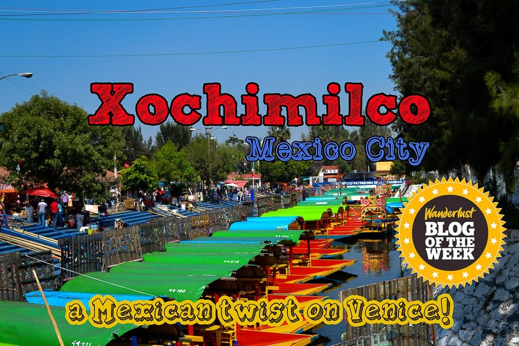 Xochimilco, Mexico City: a Mexican twist on Venice!