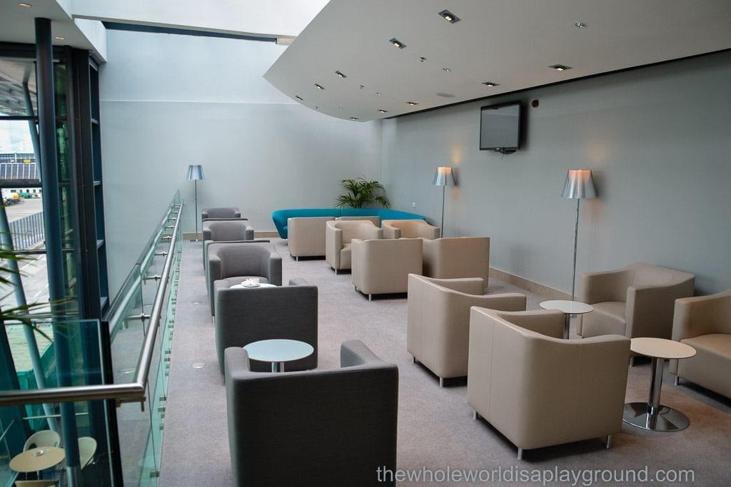 Aer Lingus Lounge Dublin airport