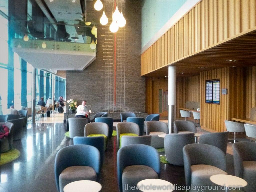 Aer Lingus Lounge, Dublin Airport, Terminal 2