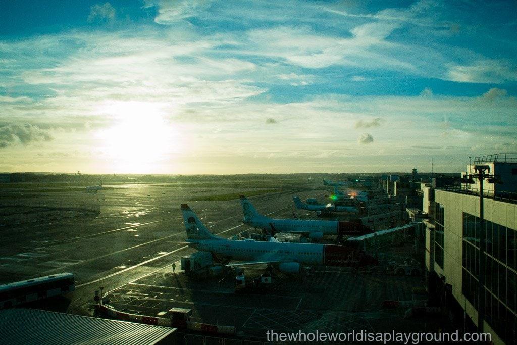 Aer Lingus No 1 lounge Gatwick airport