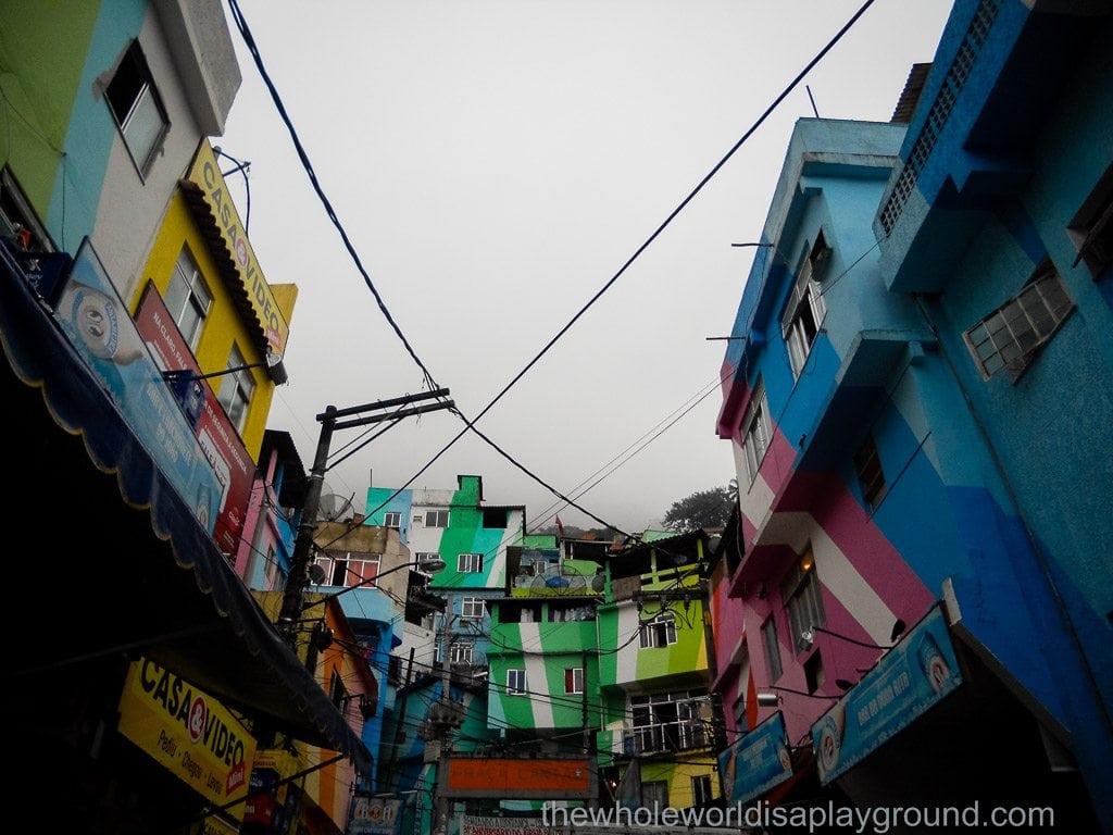 A walk through the Santa Marta Favela, Rio de Janeiro