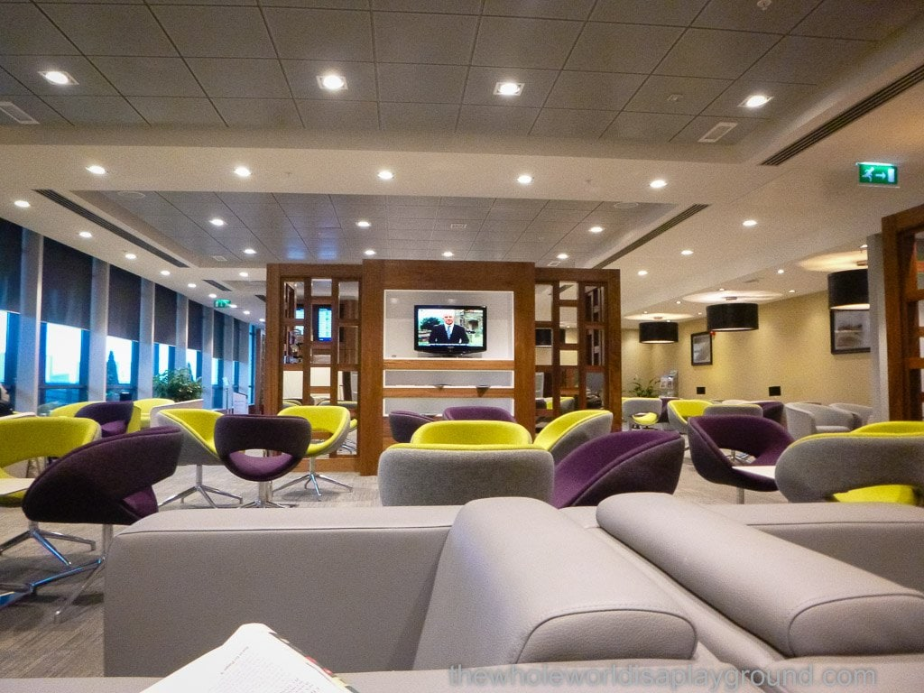 Executive Lounge, Terminal 1, Dublin Airport: Air France, British Airways and Turkish Airlines Lounge
