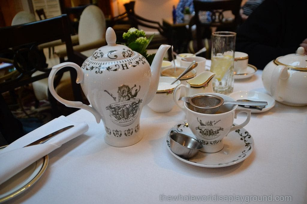 Westin Dublin afternoon tea
