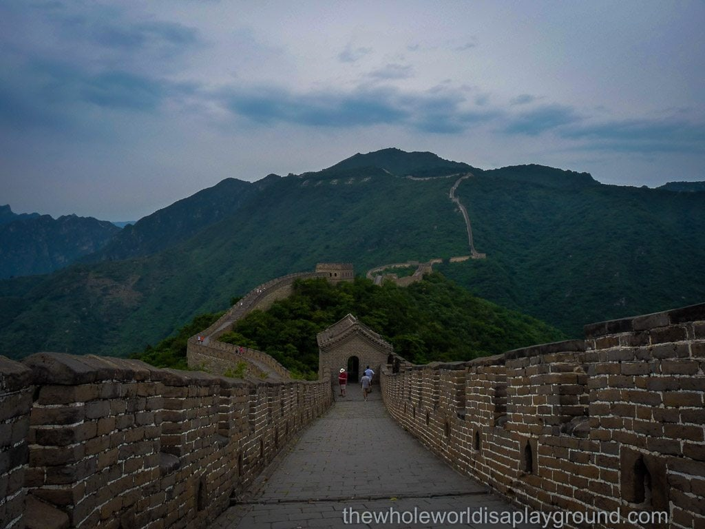 The Great Wall of China at Mutianyu: it's a beautiful world!
