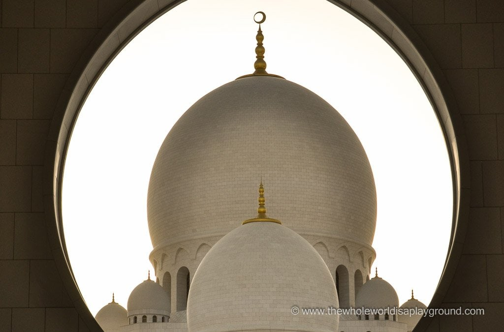 Photoblog: Sheikh Zayed Grand Mosque Abu Dhabi