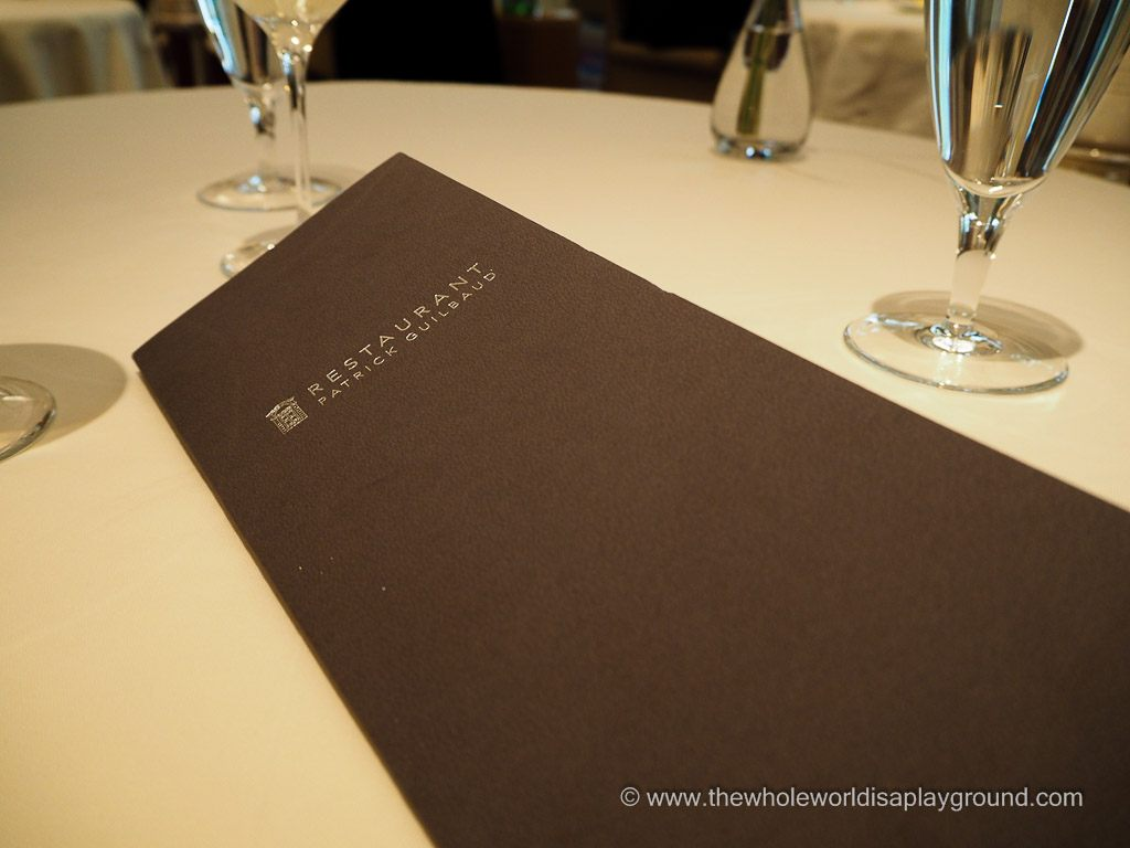 Restaurant Patrick Guilbaud @thewholeworldisaplayground