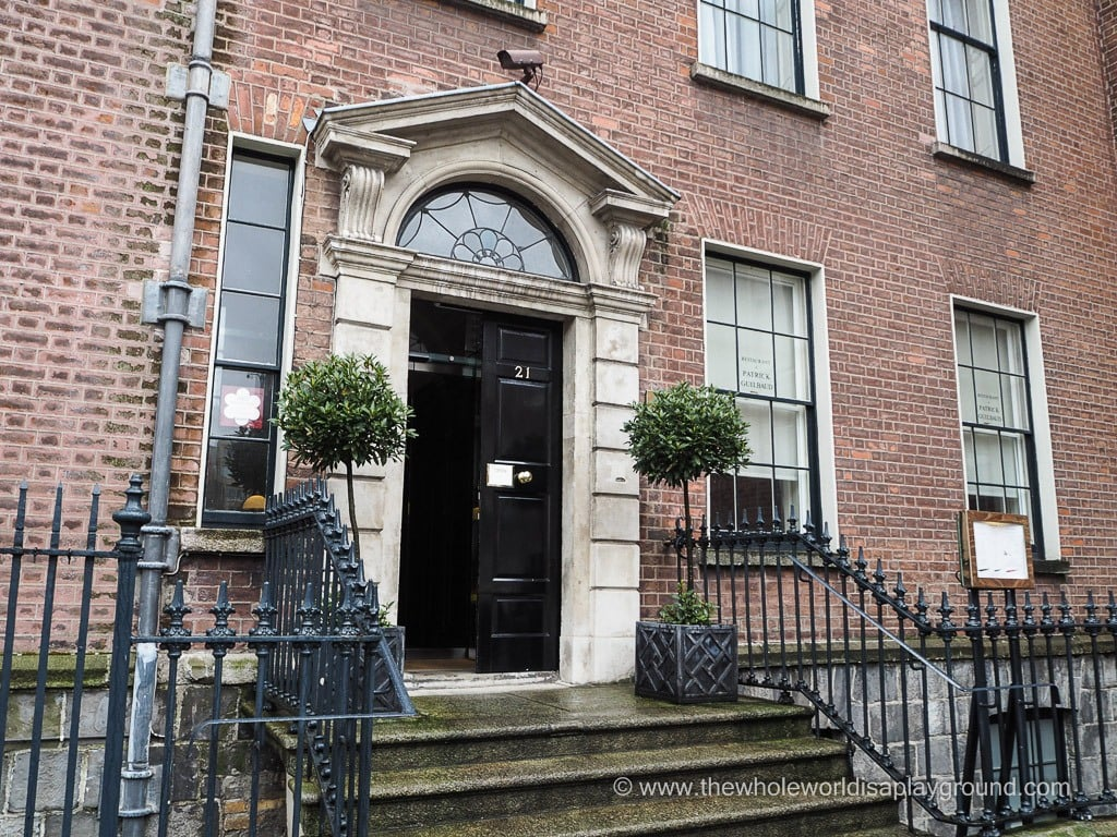 Restaurant Patrick Guilbaud: a two Michelin Star lunch in Dublin!