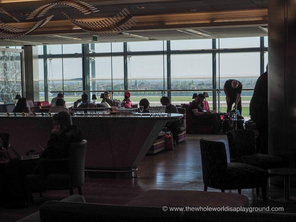 British Airways Galleries Club South Lounge London Heathrow @thewholeworldisaplayground
