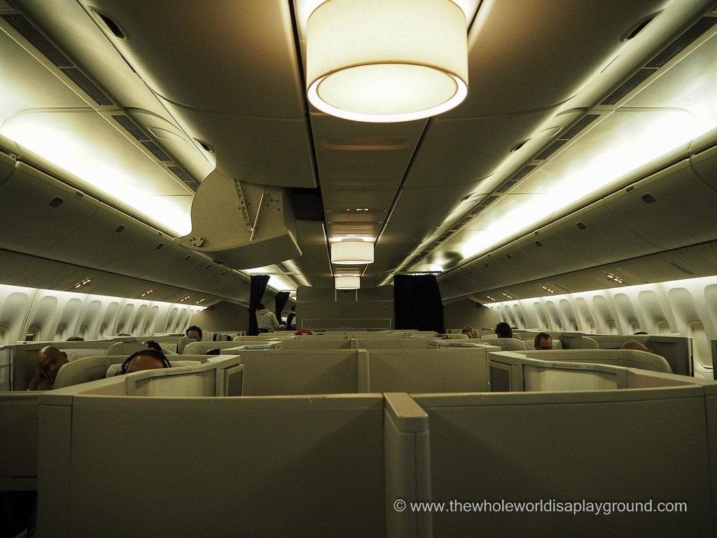 British Airways Club World ©thewholeworldisaplayground