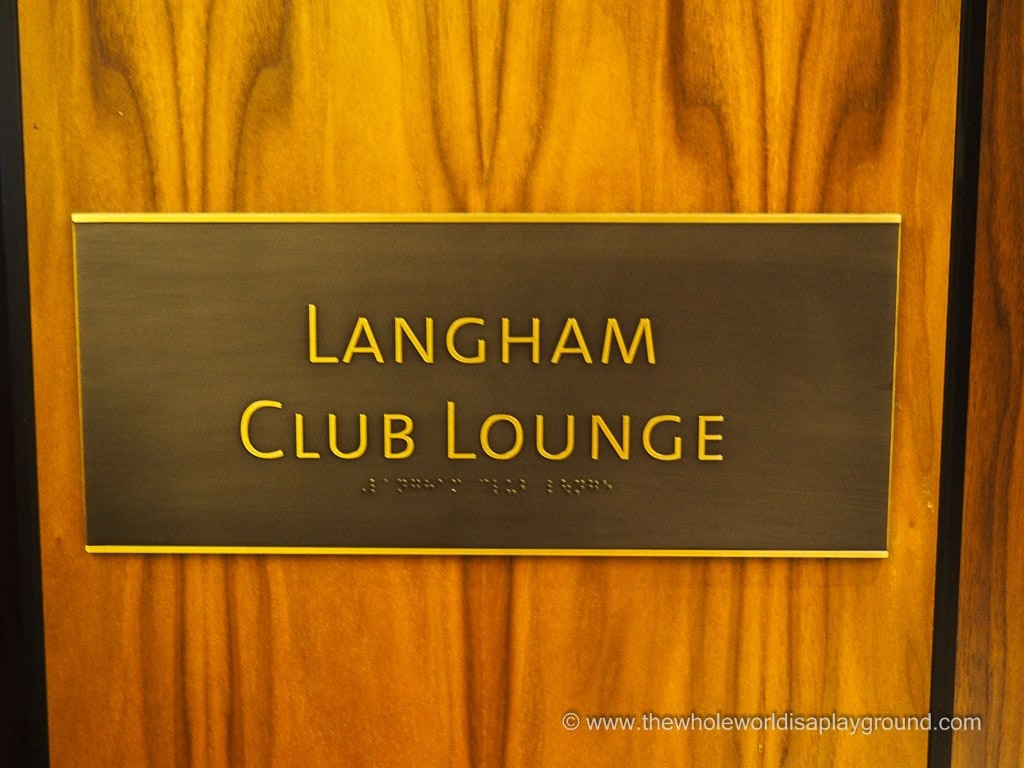 Club Lounge Langham Chicago @thewholeworldisaplayground