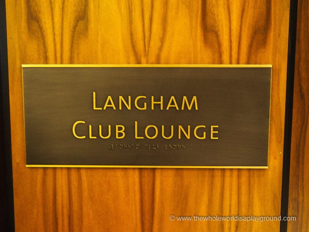 Club Lounge Langham Chicago @thewholeworldisaplayground