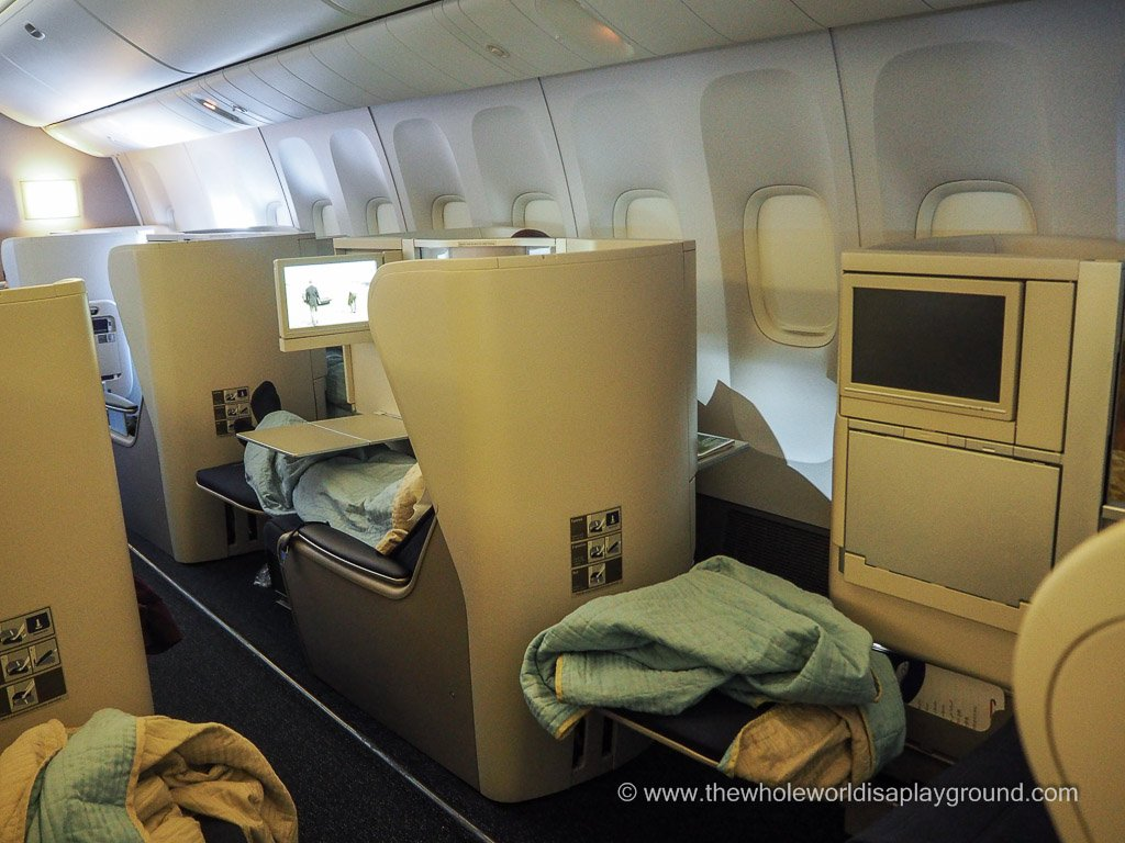 British Airways Club World ©thewholeworldisaplayground
