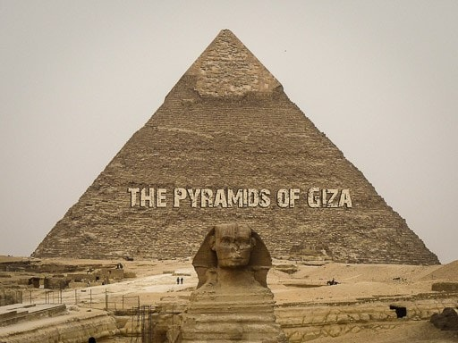 The Pyramids of Giza, Cairo, Egypt: a real life Wonder of the World!
