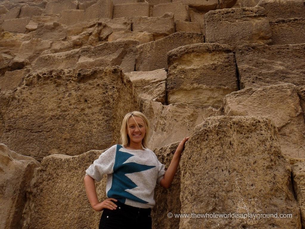 Pyramids of Giza ©thewholeworldisaplayground