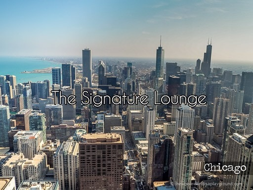 The Signature Room, John Hancock Center, Chicago: Cocktails in the Sky!