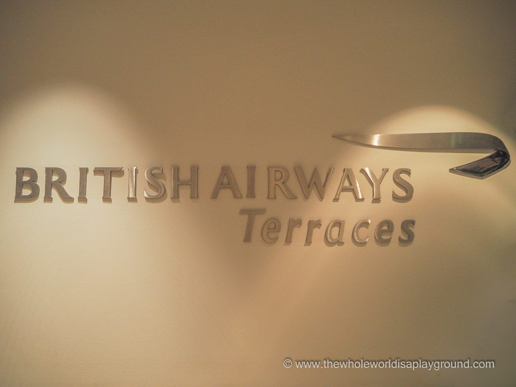 British Airways Terraces Business Class Lounge, Chicago O'Hare, Terminal 5