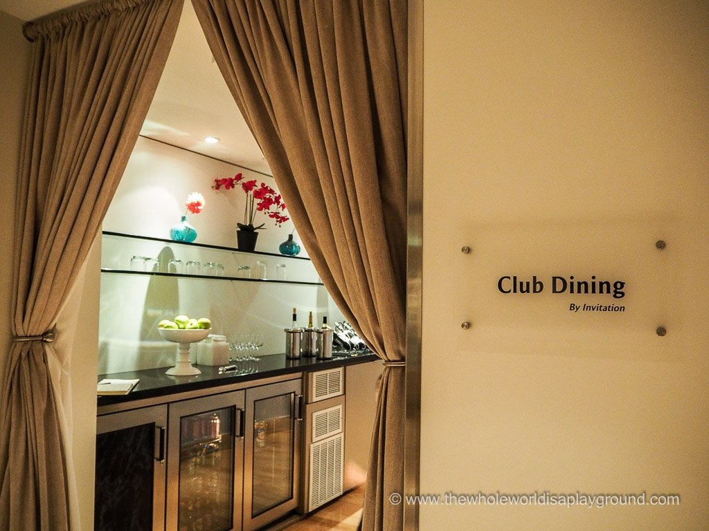 British Airways Chicago Terraces Lounge ©thewholeworldisaplayground