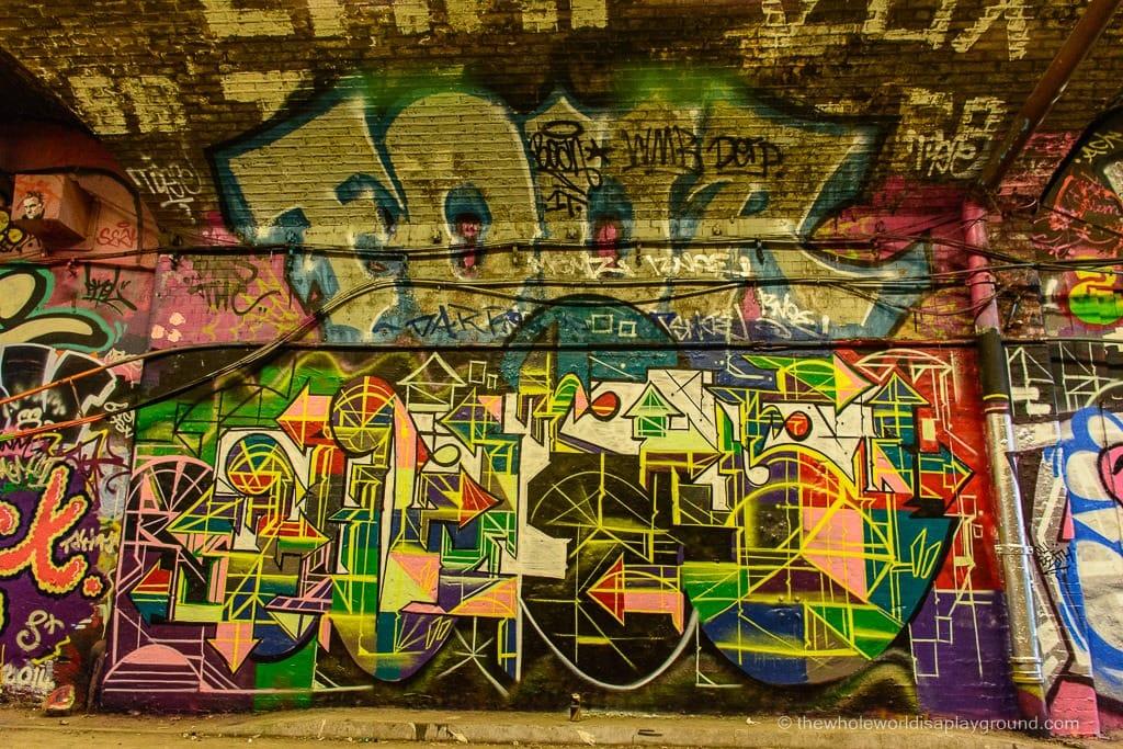 Leake Street London ©thewholeworldisaplayground