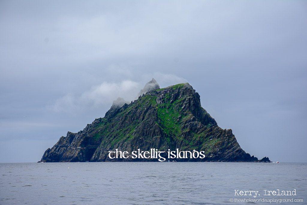 Ireland Visiting Skellig Michael