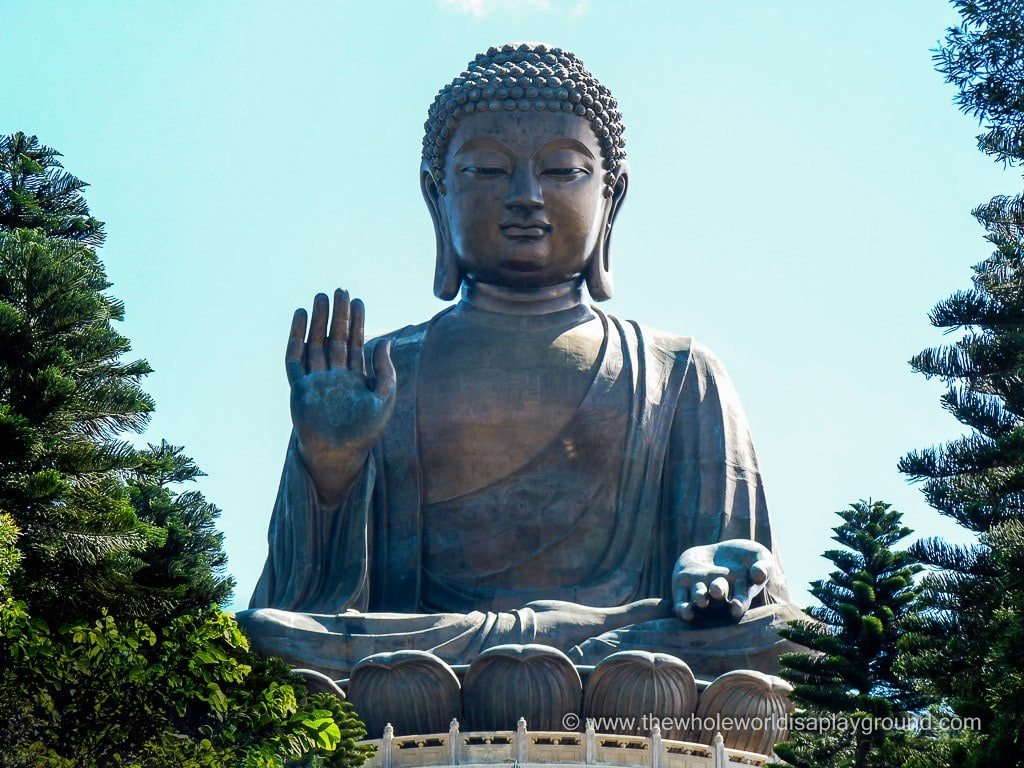 The Big Buddha, Ngong Ping Cable Car and Tai O! A Day on Lantau Island, Hong Kong