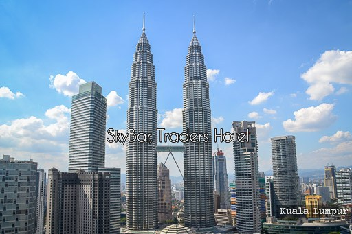 SkyBar, Traders Hotel, Kuala Lumpur: Cocktails in the Sky!