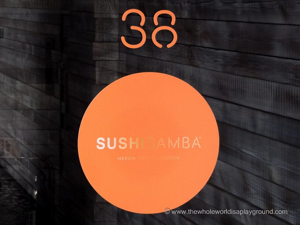 Sushi Samba London ©thewholeworldisaplayground