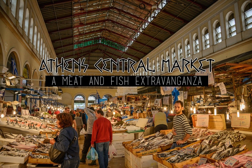 Athens Central Market: a walk through the meat and fish agora!