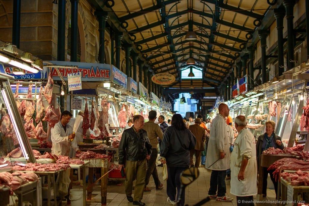 Athens Central Market ©thewholeworldisaplayground