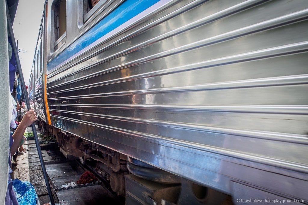 Maeklong Railway Market ©thewholeworldisaplayground