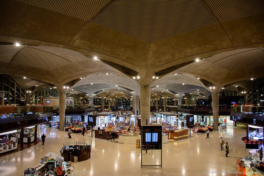 Royal Jordanian Crown Lounge Queen Alia International