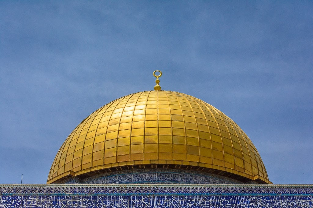 Visiting Temple Mount, Jerusalem, Israel