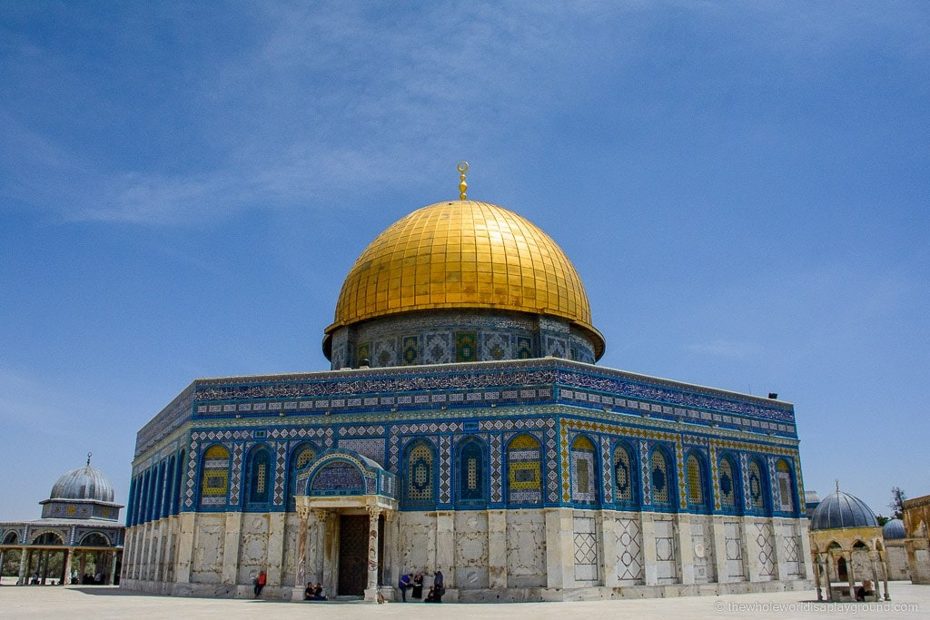 Visit to Temple Mount and Dome of the Rock ©thewholeworldisaplayground