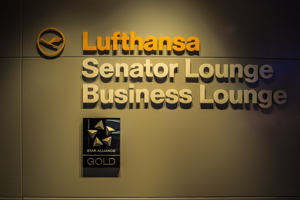 Lufthansa Senator and Business Lounge, Terminal 1, Frankfurt