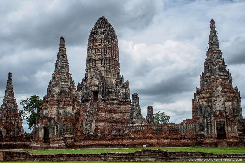 day trip Bangkok Ayutthaya ©thewholeworldisaplayground