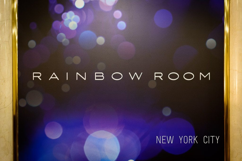 Rainbow Room, New York City: Cocktails and Views at SixtyFive Lounge!