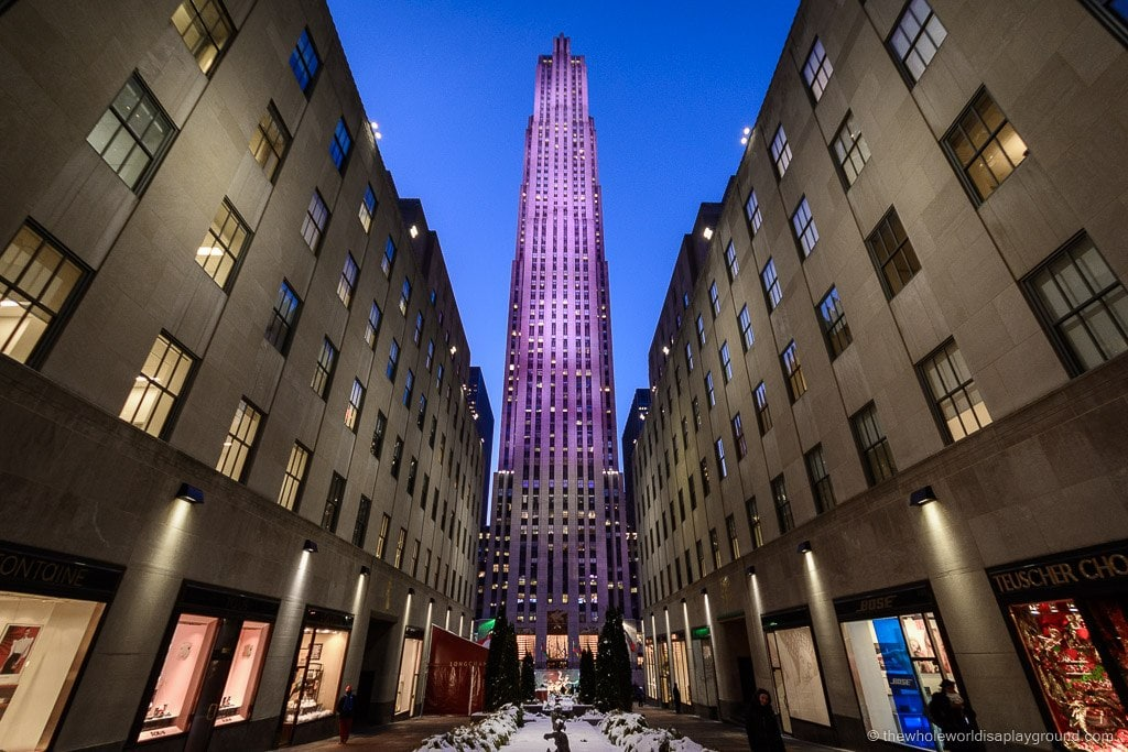 Sixty Five Rainbow Room New York ©thewholeworldisaplayground
