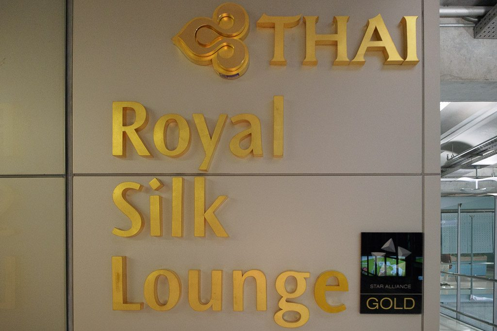 Thai Airways Royal Silk Lounge, Bangkok Suvarnabhumi Airport, Thailand