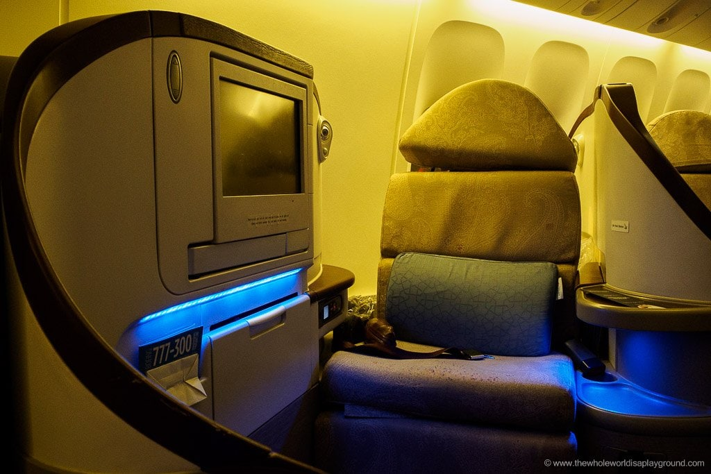 Turkish Airlines Business Class Review Istanbul To