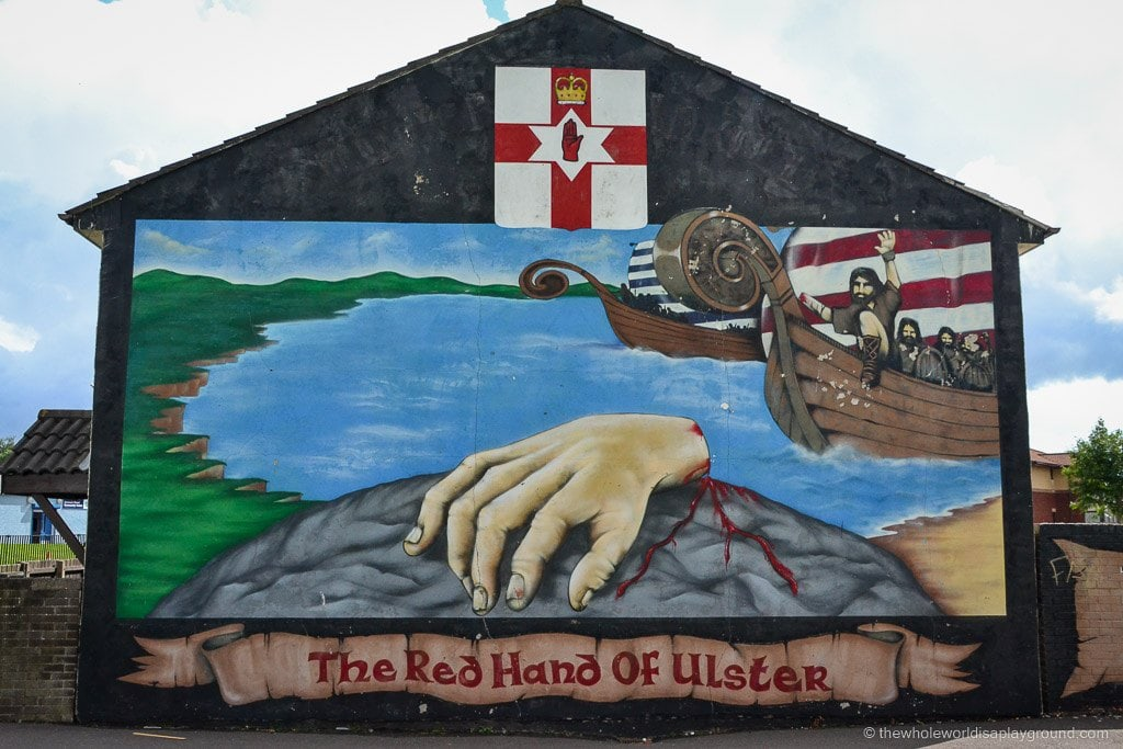 a black cab tour of belfast murals peace walls and